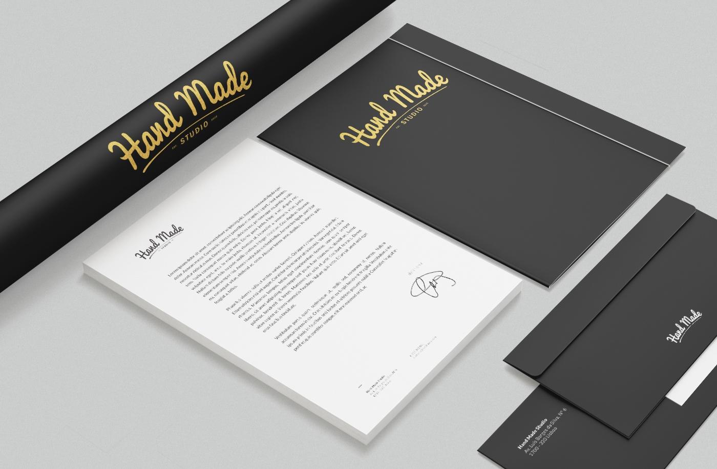 hand made studio is a graphic design studio