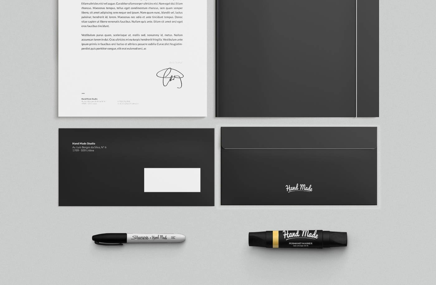 Identity and Logo for Hand Made Studio