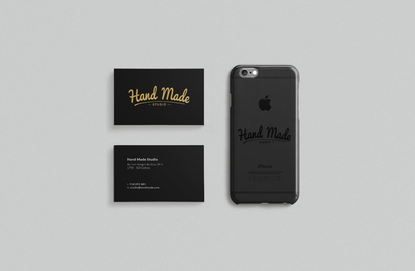 Branding for hand made studio a graphic design studio