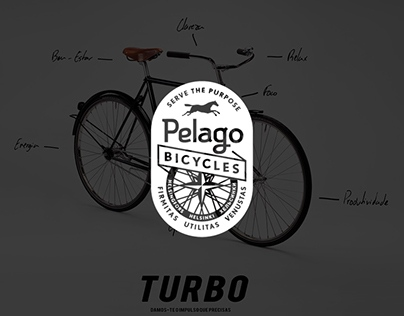 Pelago Bicycles identity improvement for school project